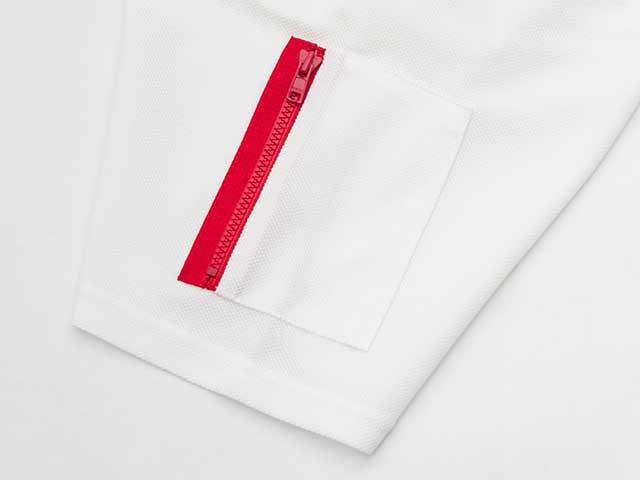 【ミリタリーポロ】ポロシャツ プライムフレックス ストレッチ 吸汗速乾 肩・背ポケットNo.2124