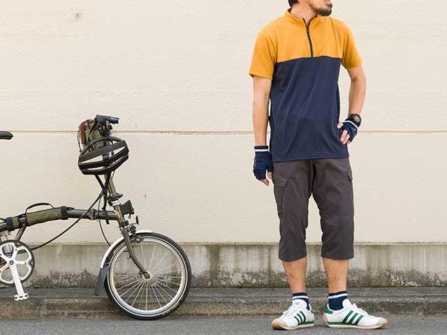 【和紙ジャージ】和紙繊維 調湿 吸汗速乾 サイクルジャージ  背ポケット 日本製 No.2163 【送料無料】