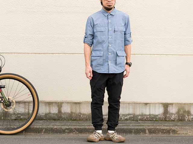 【フィールドシャツ】コーデュラナイロン 7ポケット 長袖 吸汗速乾 高耐久性 日本製 No2181【送料無料】