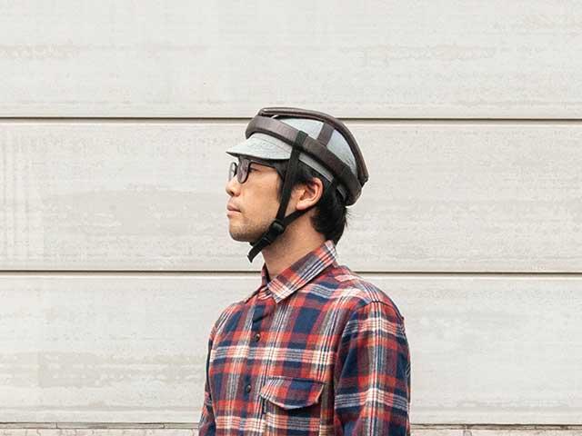 【サイクルキャップ】カスクやヘルメットの下に 雨や日光から目を守る 日本製 No.4503【ネコポス対応】