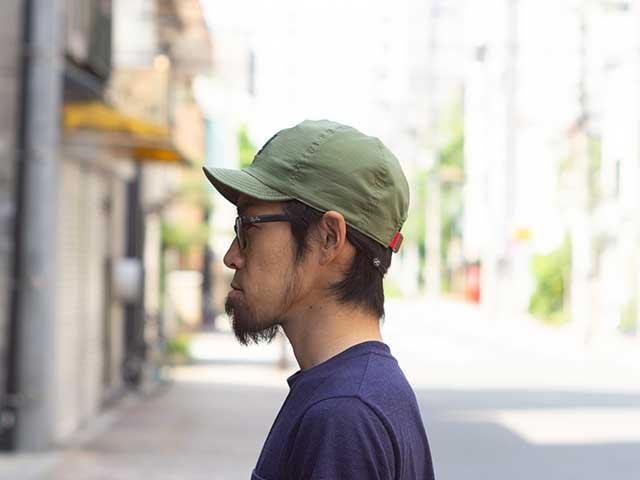 【KETTA 帽】 カジュアル COOLMAX リップストップ 野球帽 サイクルキャップ 日本製 No.4535