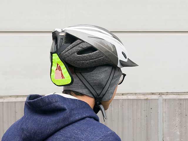 【ビーグルキャップ】耳当て ヘルメットインナー キャップ ホールガーメント 日本製 No.4536