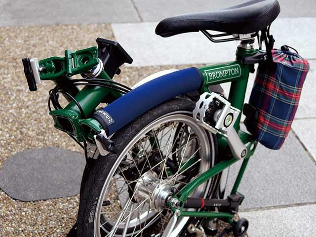 【ブロンプトン用フレームパッド】トップチューブカバー 傷付き防止 自転車のアクセントに No.5063