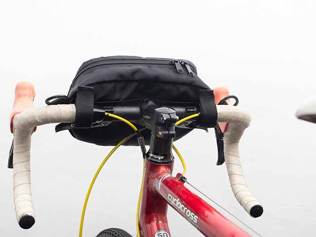 【2WAYフロントバッグ】ショルダー&ハンドルバッグ ロードやクロスバイク、ミニベロ ベルクロ取付け No.5084 日本製