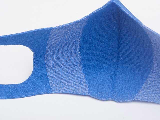 【和紙ニットマスク】和紙繊維 x ポリエステル 飛沫抑制 快適な着用感 吸汗速乾 日本製 No.8039【ネコポス対応】